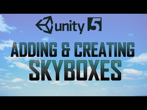 This Unity3D tutorial shows you how to create a skybox whether this