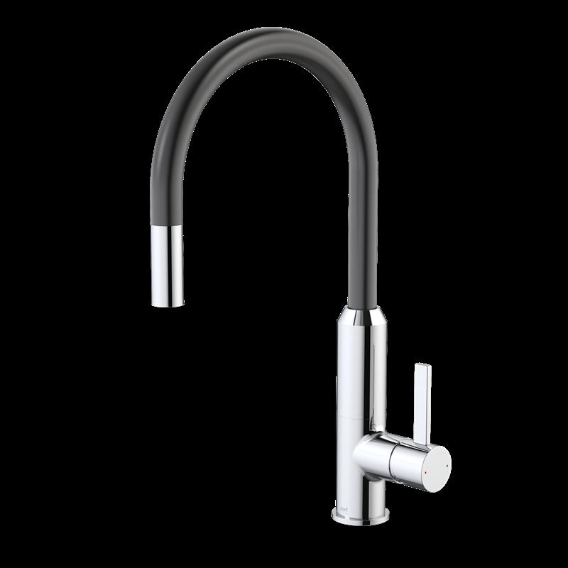 Find Dorf Vixen Black Retractable Sink Mixer at Bunnings Warehouse ...