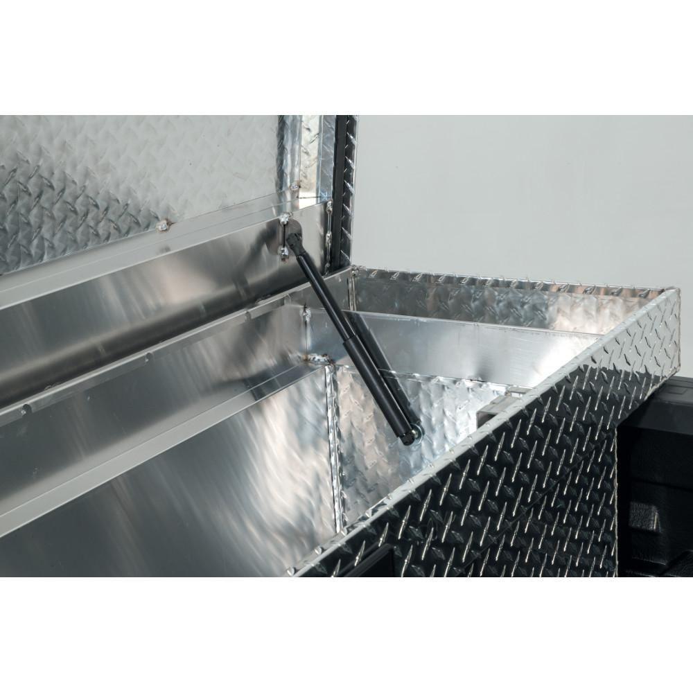 Husky 71 36 Diamond Plate Aluminum Full Size Crossbed Truck Tool