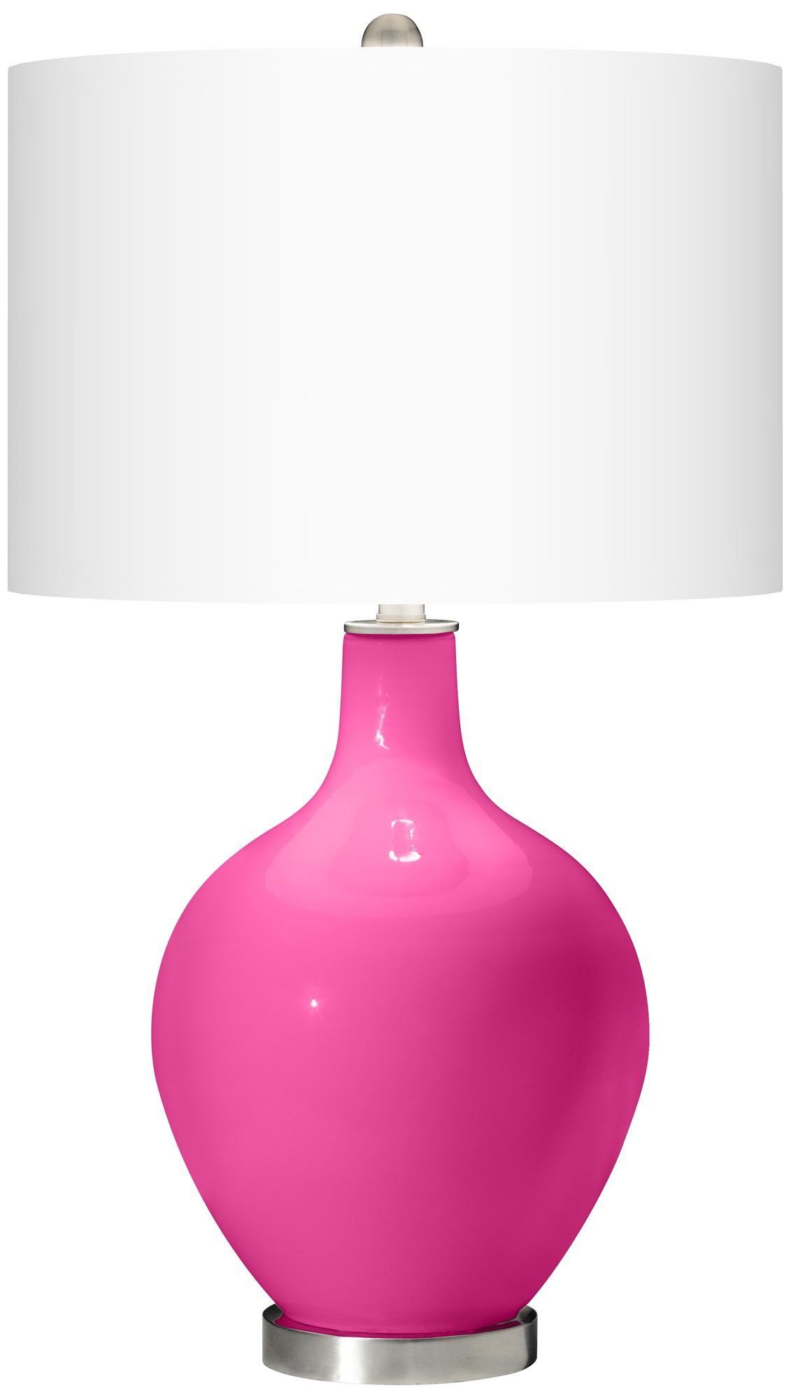 Fuchsia Ovo Table Lamp Style X1363 X9736 X9869
