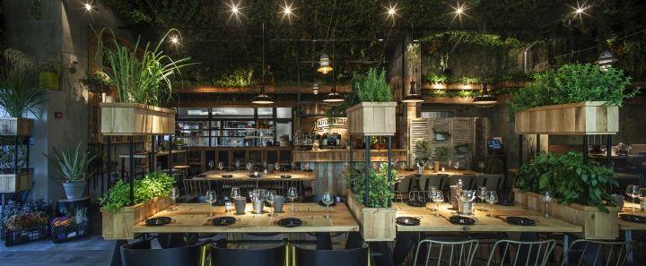 Segev Kitchen Garden Restaurant By Studio Yaron Tal Hod Hasharon Israel Retail Design