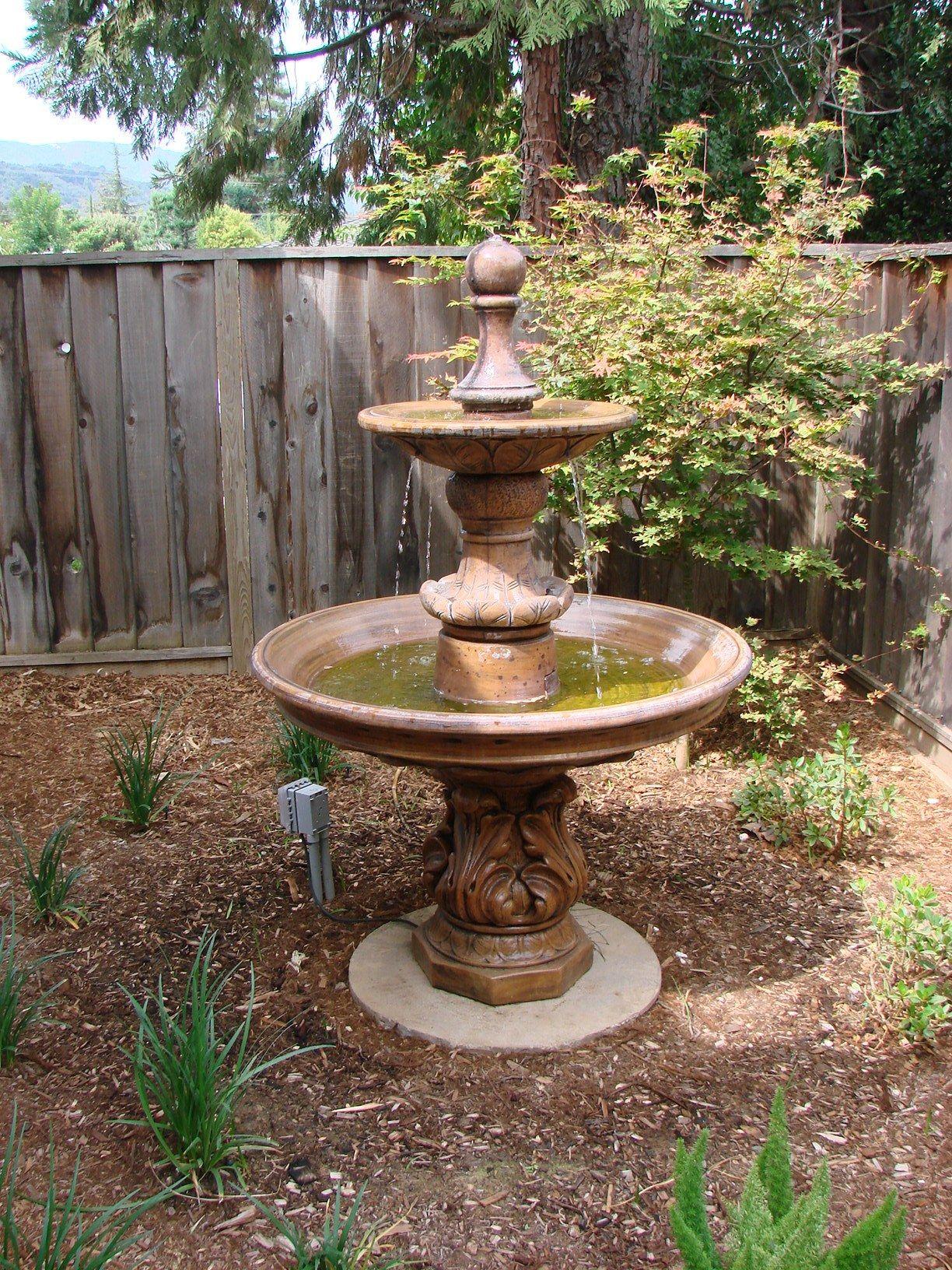 Garden fountain by West Bay Landscape Co. (San Jose, California ...