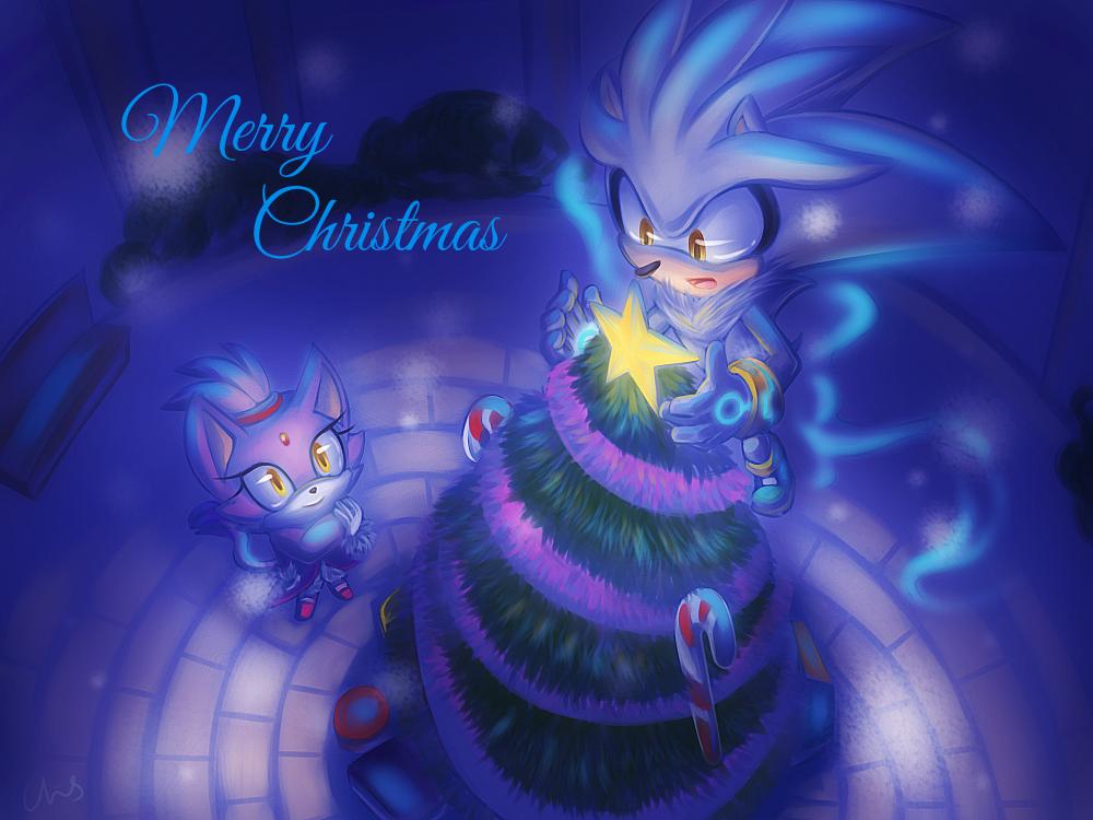 Sonic Christmas Hours.Marry Christmas 2014 By Heihei188 On Deviantart Sonic Hedgehog