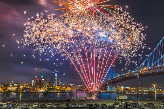 Weekend Picks 40th Street Summer Series Outdoor Concert Eagles Flight Night Free Fireworks Show Over The Delaware River And More New Years Eve Fireworks Fireworks Visit Philadelphia