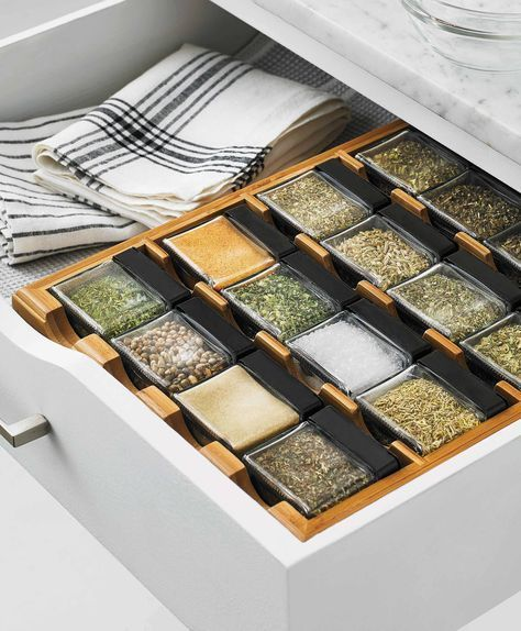 This ecofriendly bamboo spice rack from Martha39s collection is what kitchen