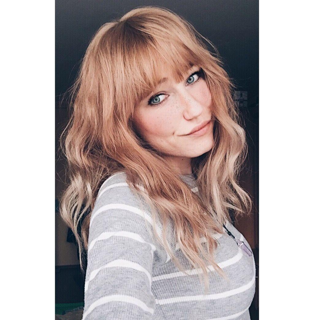 Beauty Girl Ginger Strawberry Blonde Green Eyes Long Hair Polish Beauty Hair Long Hair Styles
