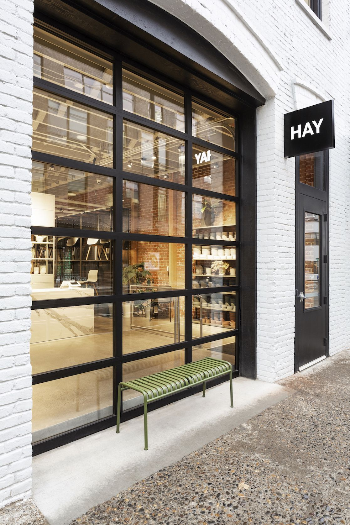 Portland Welcomes Hay S First Brick And Mortar Store In The Us Brick Store Brick Architecture Modern Store