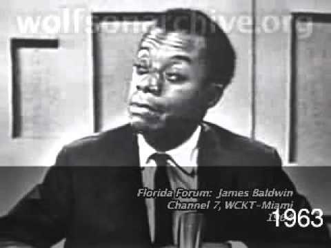 Photo of JAMES BALDWIN: Interview (Florida Forum, Miami)~~1963