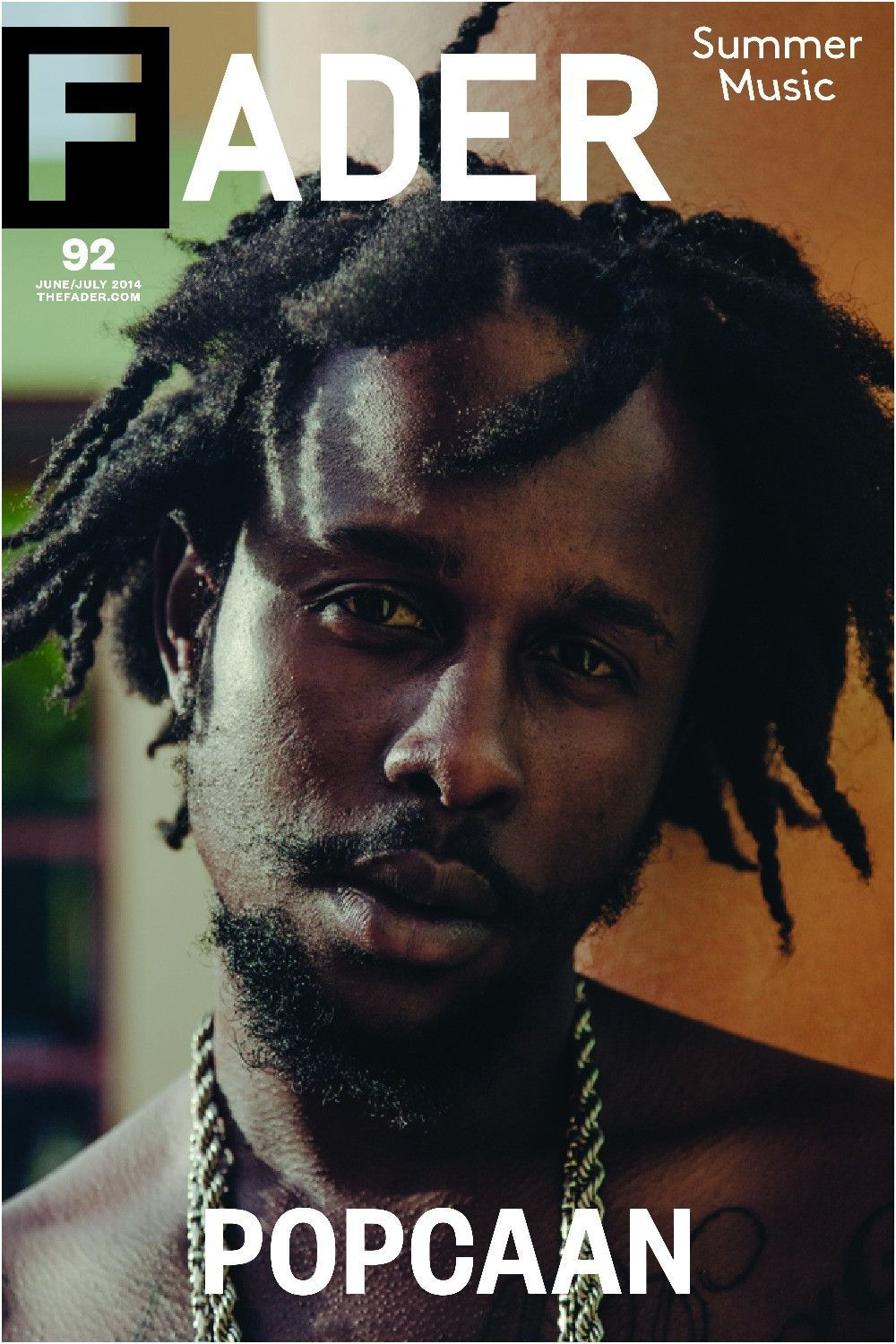 Popcaan The Fader Issue 92 Cover 20 X 30 Poster With Images