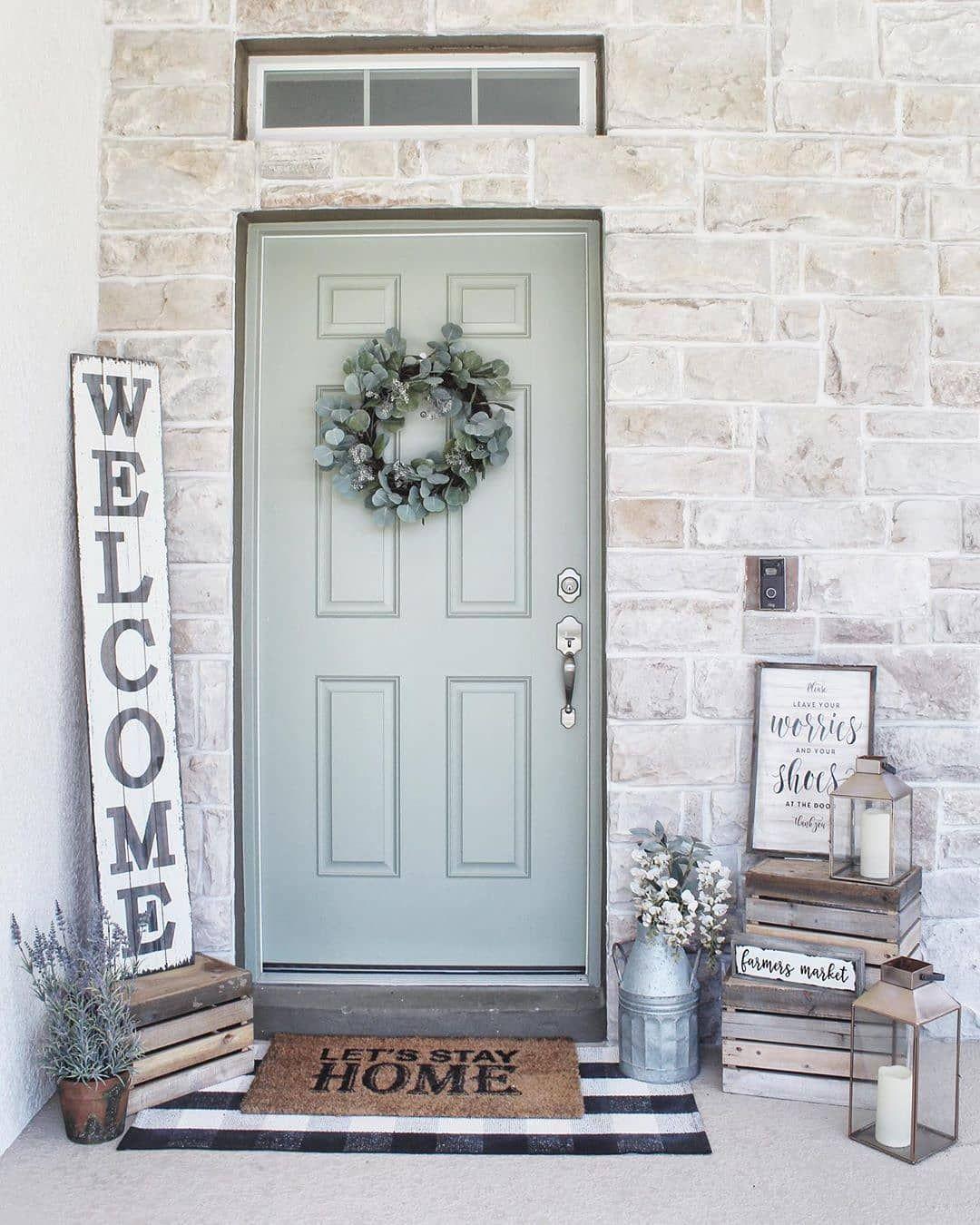 Farmhousehome Decorating Ideas: Farmhouseinteriors On Instagram: Love This Entry