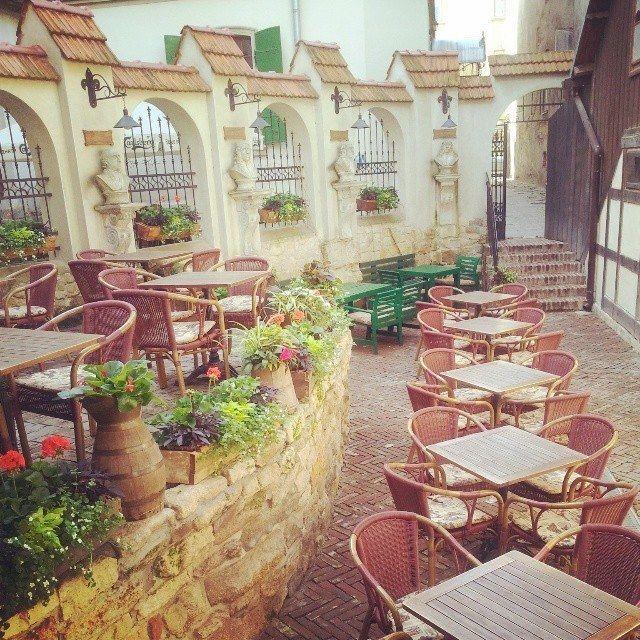 One Of The Many Quaint Restaurants In Lviv Ukraine Cobblestonefreeway Culturetours