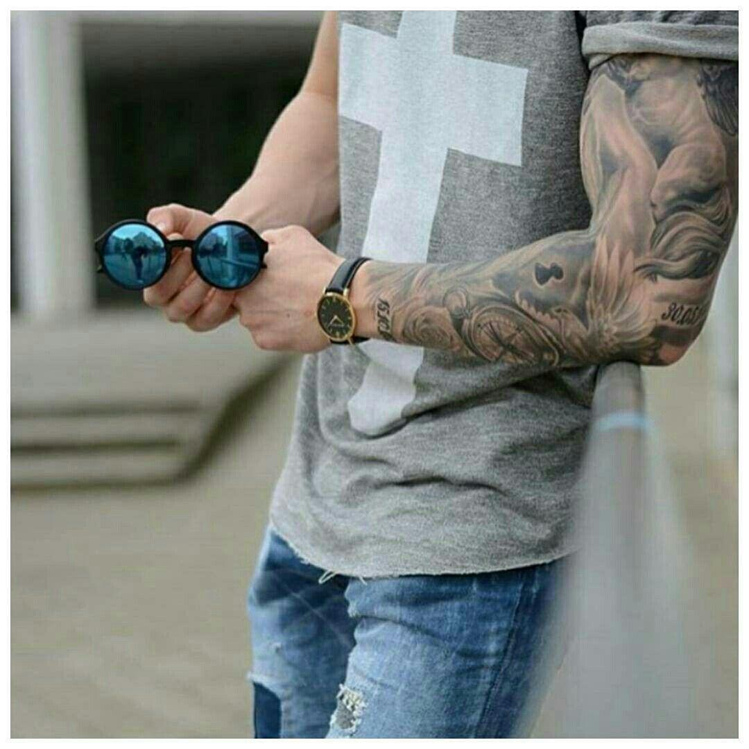 Pin De Edison Orozco En Fashion Tatuajes Para Hombres Mangas Tattoo Hombres Tatuajes