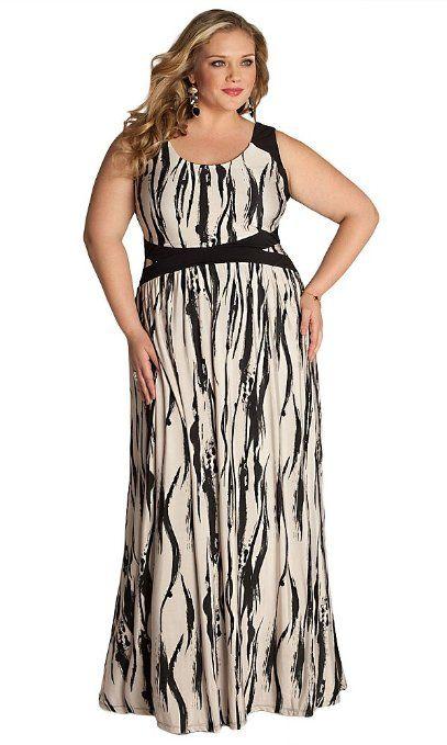 IGIGI Novella Plus Size Maxi Dress