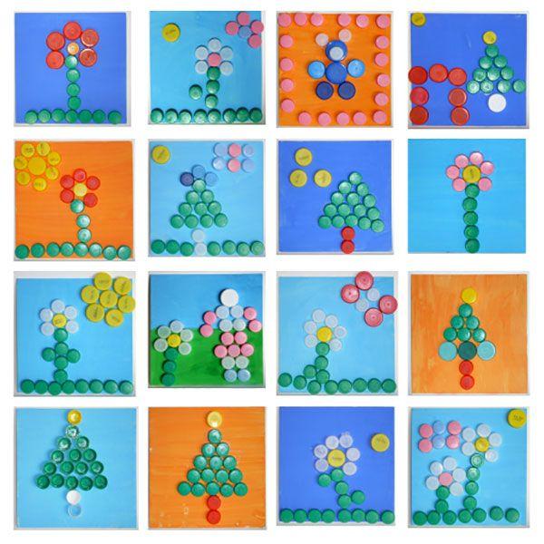 Lavoretti Di Natale Con Tappi Di Plastica.20 Idee Per Lavoretti Con Tappi Di Plastica Per Bambini Kids Crafts Idee Riciclo