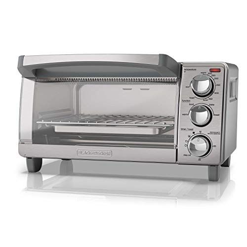 Black Decker 4 Slice Toaster Oven With Natural Convection