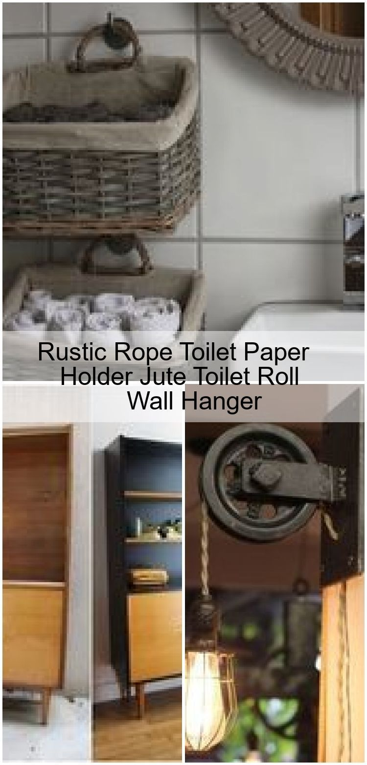 Rustic Rope Toilet Paper Holder Jute Toilet Roll Wall Hanger   Rustic Rope Toilet Paper Holder Jute Toilet Roll Wall Hanger  Rustic Rope Toilet Paper Holder Jute Toilet R...