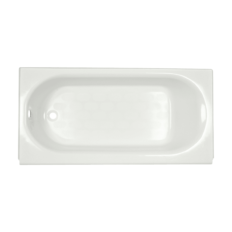 "American Standard 2396.202.020 White Princeton 60"" Americast Soaking Bathtub with Left Hand Drain - Lifetime Warranty"