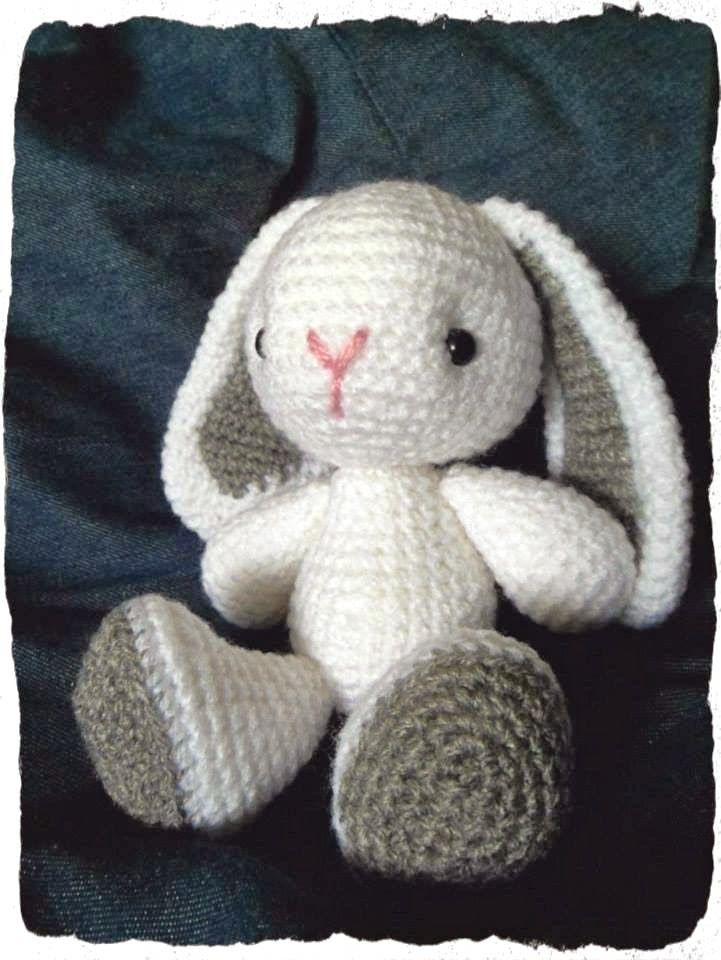 Conejito (AMIGURUMIES) | Projects to Try | Pinterest | Crochet ...