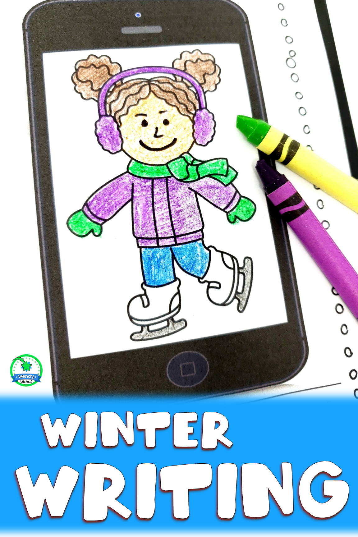 Winter Writing Commas In A Series Worksheets In