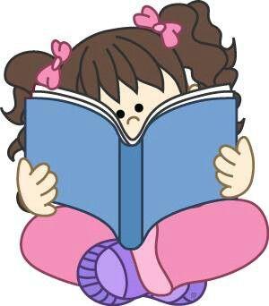 Nina Libro Ninos En La Escuela Dibujos Ninos Leyendo Ninos Leyendo