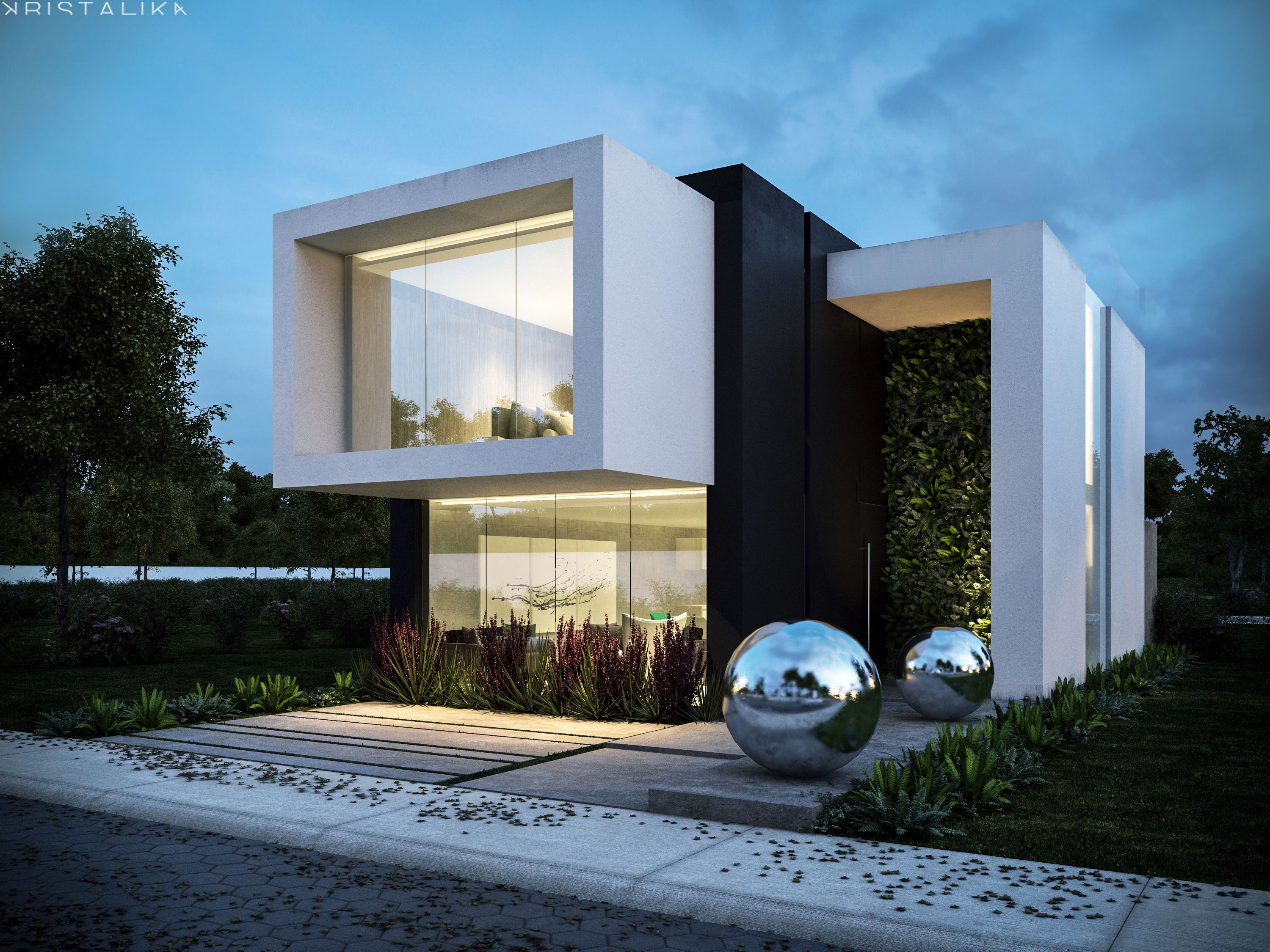 RSI 16 HOUSE Modern house facades, House architecture