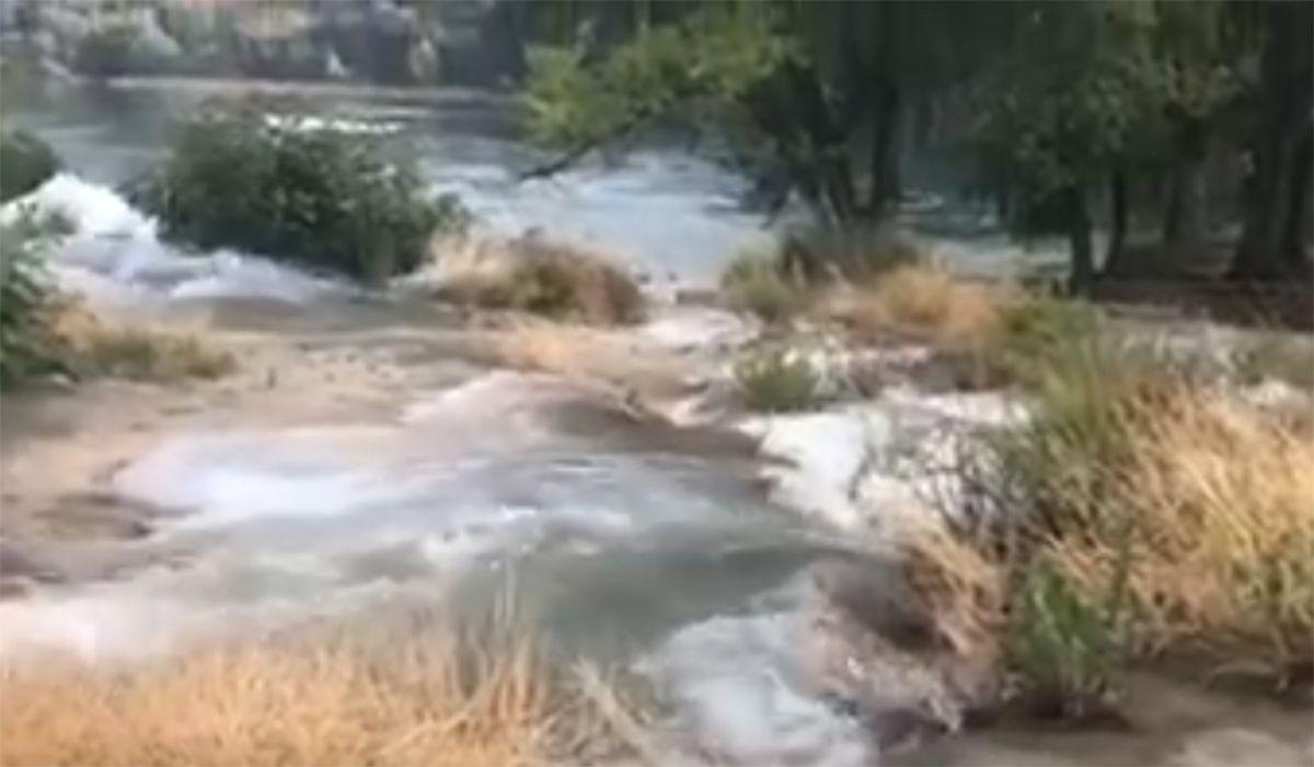 Video Las Lluvias Desbordan Las Lagunas De Ruidera Lagunas Lluvia Videos