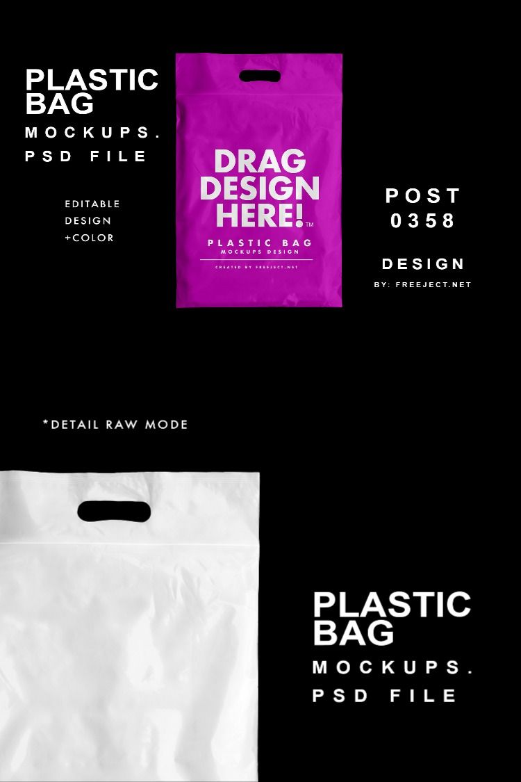 Download Free Download Plastic Bag Mockups Photoshop Template Psd File Bag Mockup Mockup Photoshop Free Download Photoshop