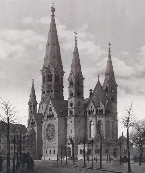 Kaiser Wilhelm Church In Berlin Berlin Architektur Berlin Historische Fotos
