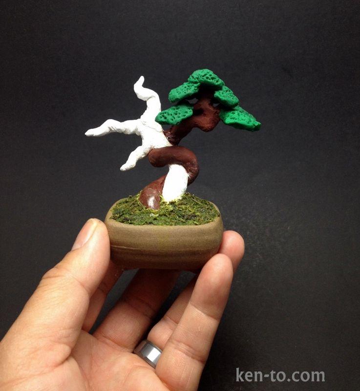 Polymer Clay bonsai sculpture by Ken To by KenToArt on deviantART ...