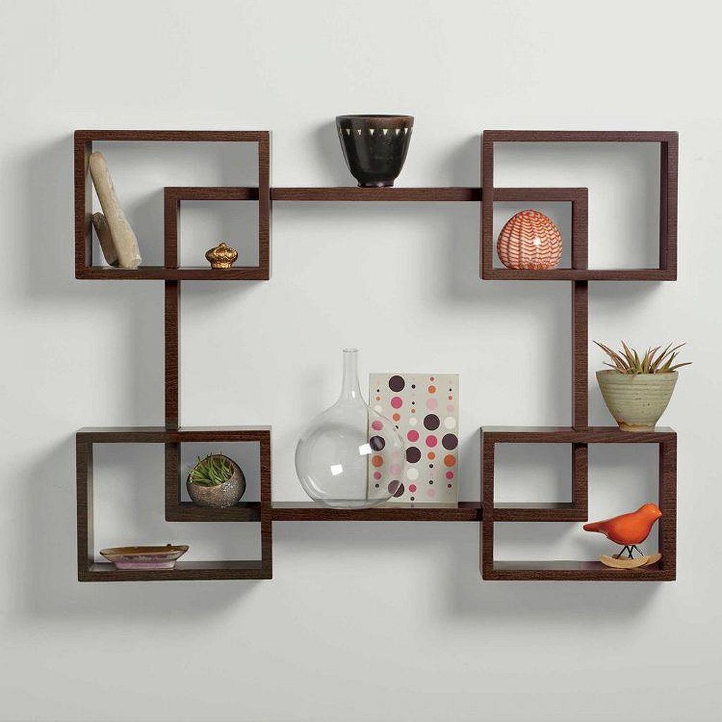 40 Simple Shelves Design Ideas Wall Shelves Living Room Unique