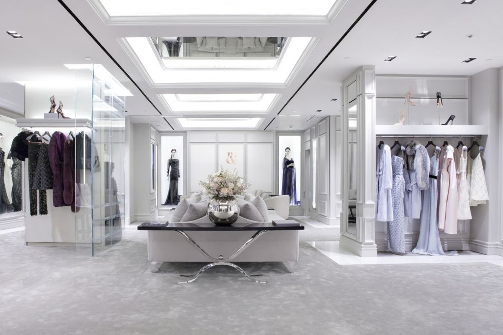 Our Hangers At Ralph Amp Russo Store At Harrods London