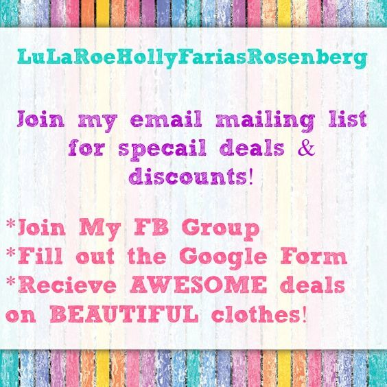 https://www.facebook.com/groups/LuLaRoeHollyFariasRosenberg/   #LuLaRoe #Fashion #Clothes