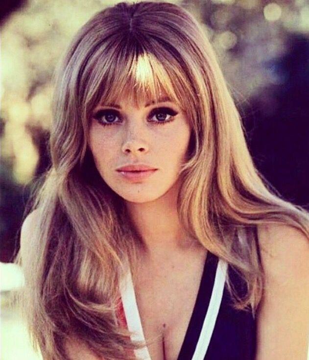 britt ekland beauty 70s hair