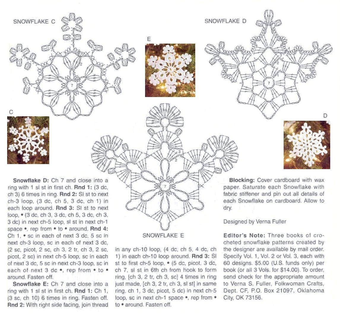 sexy-crochet.com_copos_de_nieve_12   Copos de nieve   Pinterest ...