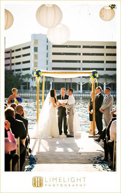 #Wedding #Day #Westin #HarbourIsland #Tampa #FL #Ideas #Limelight #Photography #beachwedding #ceremony #water #bride #groom