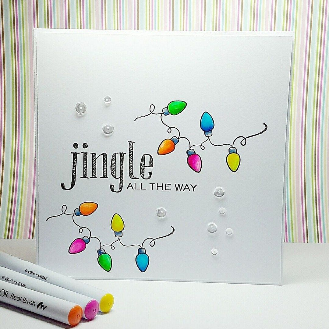 37 Easy Diy Christmas Card Craft 1 With Images