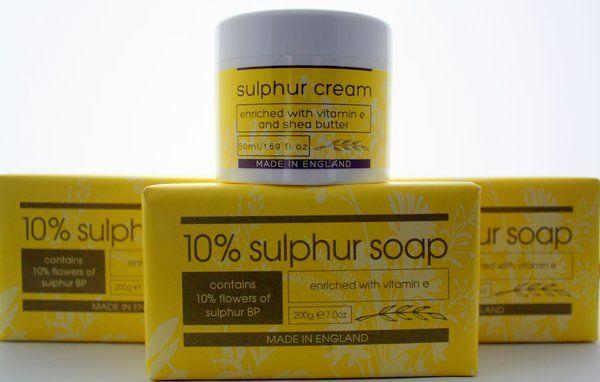 Sulphur Cream Sulphur Soap Sulfur Cream Sulfur Soap Set