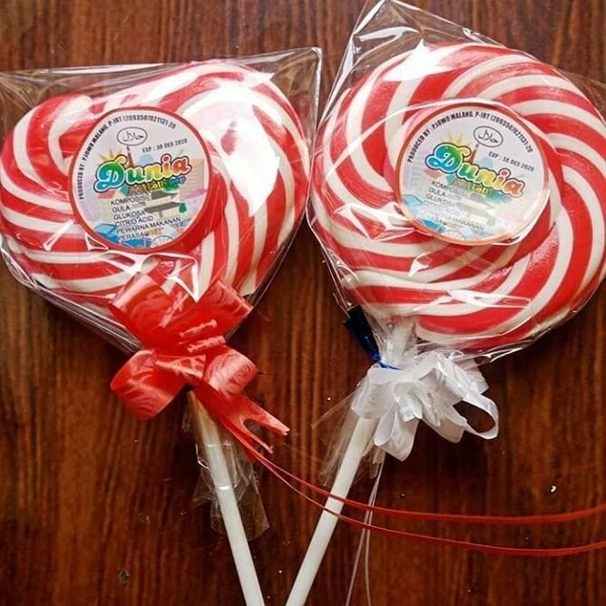 Permen Lolipop 9cm Red Lolipop Lollipop Food