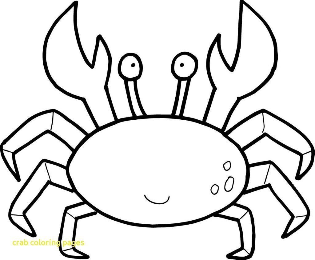 Crab Coloring Sheets 21072 1100950 Inside Page Free Coloring