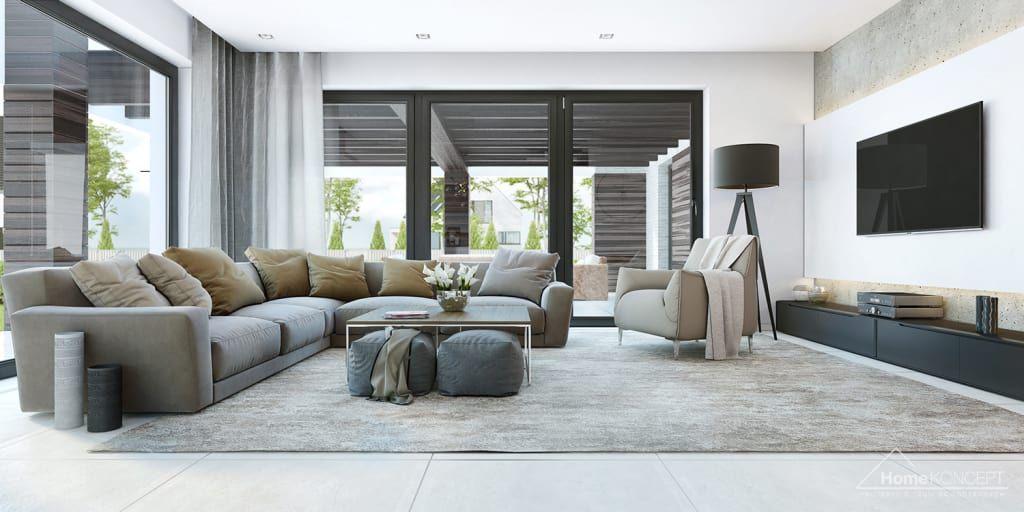 Salon de style par homekoncept in 2018 | Hausbau2019 | Pinterest ...