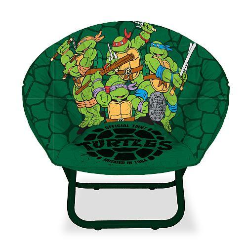 ninja turtle chair toys r us alera elusion swivel australia teenage mutant turtles mini saucer idea nuova