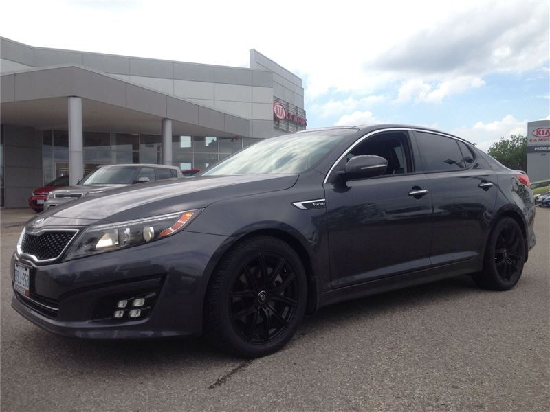 Car - 2014 Kia Optima SX at Turbo Must See! in Kitchener, ON $36,694 ...