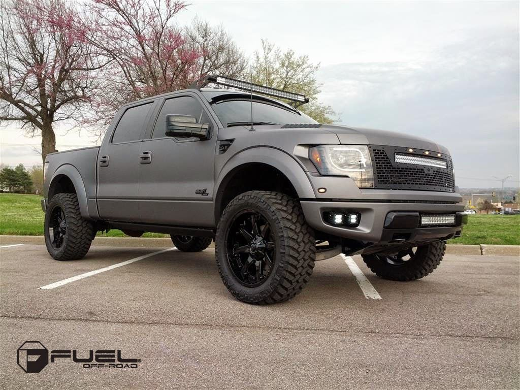 2014 ford f 150 raptor on fuel off road