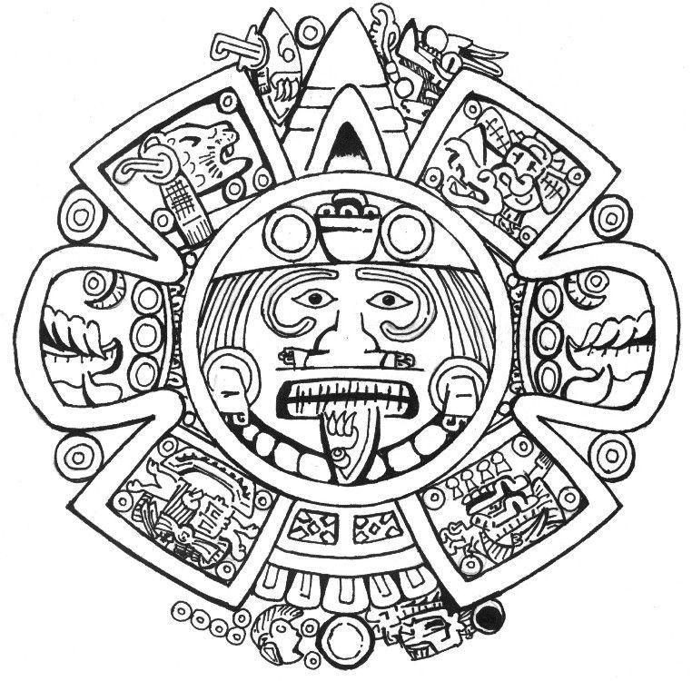 Un producto digno de una ofrenda a los Dioses .100% Azteca | Fonts ...
