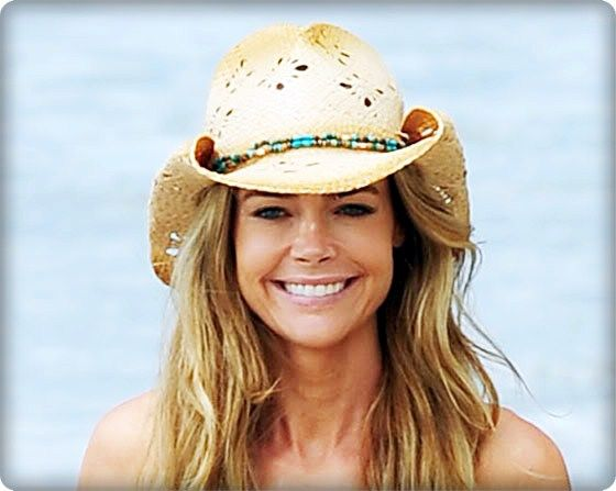 c744a4d14 Denise Richards looking great in this cowboy hat! | Anti Aging ...