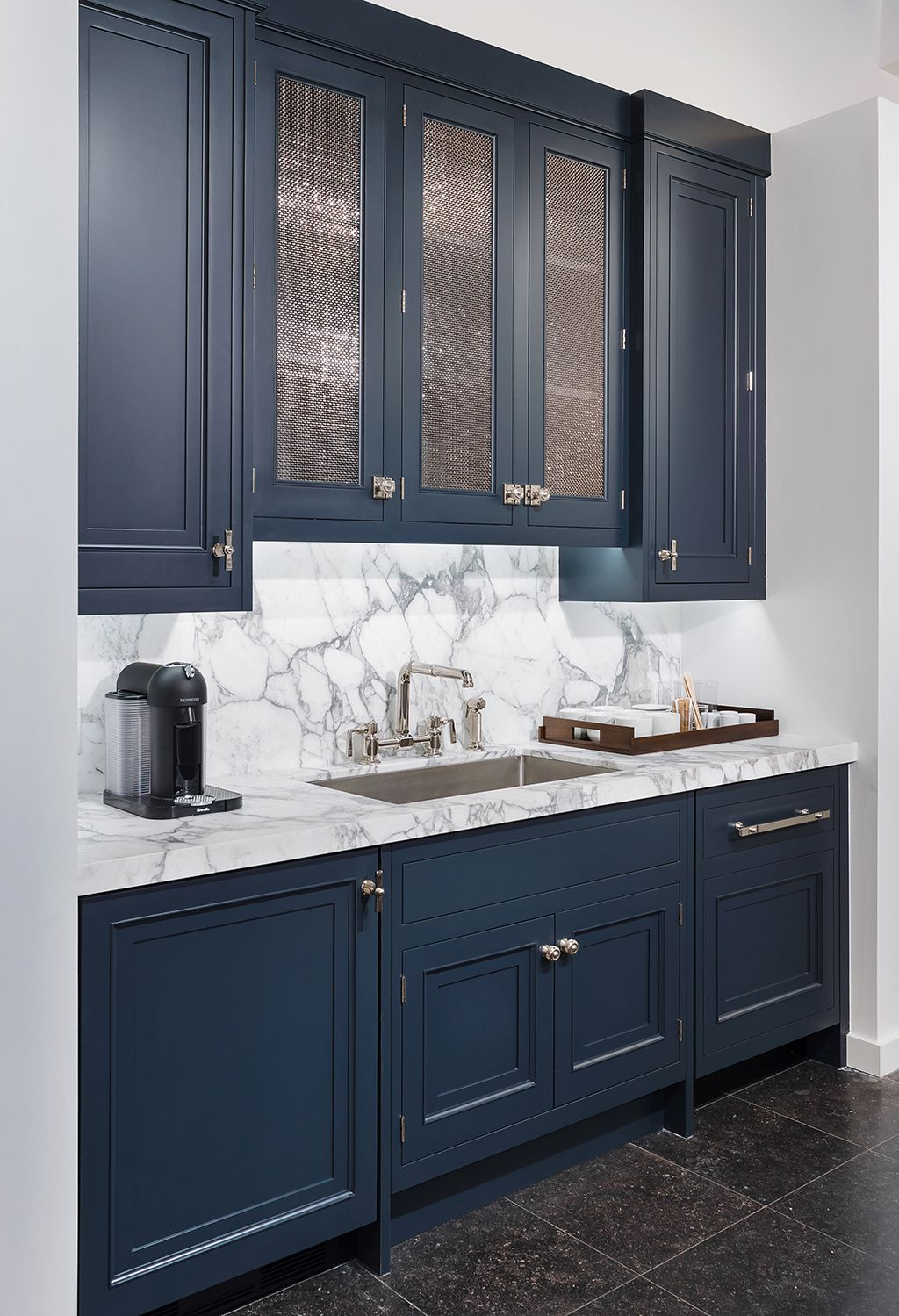 Custom Cabinetry Overview Waterworks Blue Kitchen Cabinets Kitchen Cabinet Design Kitchen Faucet