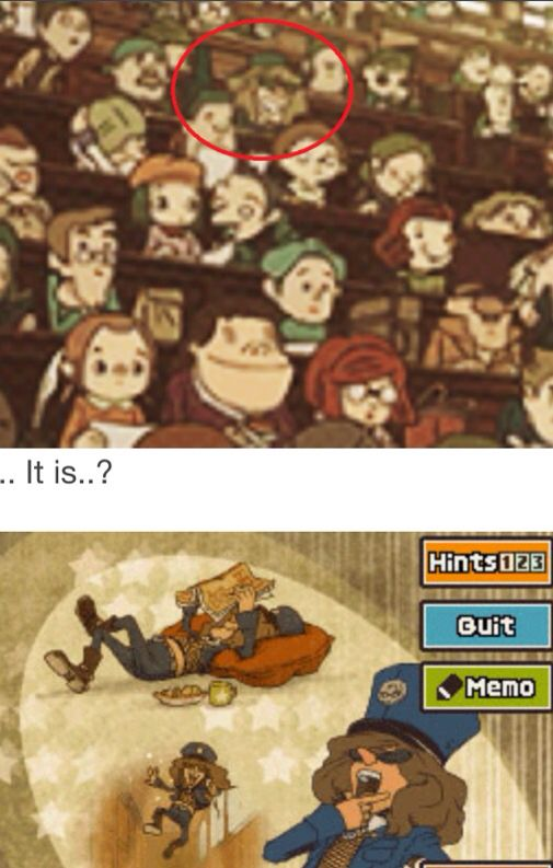Sammy Learned Archaeology Also That Robot Chic Who Stole Lucy S Hat Whaaaaaat Professor Layton Layton Funny Puzzles