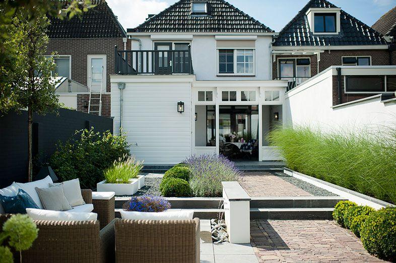 Klassieke tuin met hoogeteverschillen dormitory plan