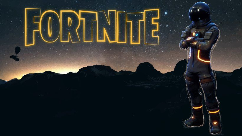 Dark Voyager Fortnite Battle Royale Video Game 3840x2160 4k