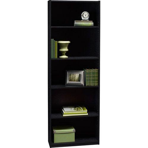 $31.50  Ameriwood 5-Shelf Bookcase, Multiple Finishes